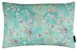 337 Pillow Birdy Lin Green 60x40