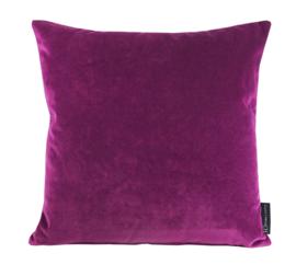 """193 Kussen Velvet """"Warm Purple 9416"""" 45x45"""