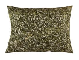 179. Kussen Batik cotton Green 50x40