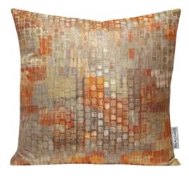 282 Pillow Stipple Tabasco 50x50