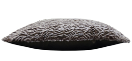234 Pillow Fake Astrakan Fur Taupe 45x45