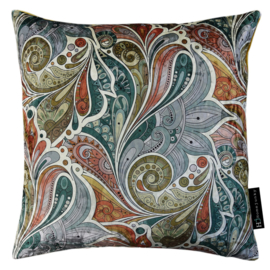 255 Pillow IV Paisley Garden Steel 45x45
