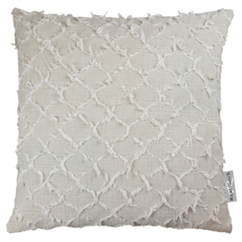 329 Pillow Tropea Sand Sil 55x55