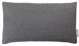 299 Pillow Boucle Antracite 50x30