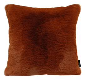 272 Pillow Mink Coral Red 45x45