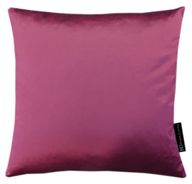 233 Pillow Fake Astrakan Fur Bordeaux 45x45