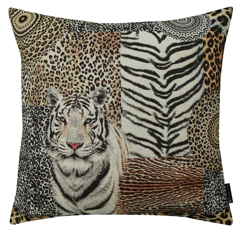 355 African tiger large gobelin 60x60