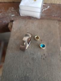 Sterrenstelsel met diamanten en Topaas