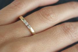 2 oude trouwringen worden 2 nieuwe ringen