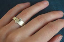 Geelgouden ring in nieuw jasje