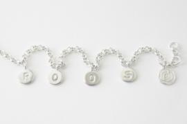 Geboorte-armbandje Roos