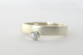 Ring 'Halverwege' van oud goud