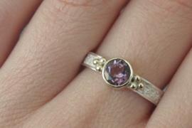 Ring met Amethyst