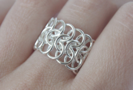 Ring bijpassend bij armband