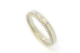 Geelgouden ring van oud goud