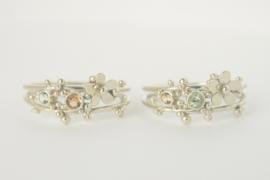 Fleurige tweeling-ringen