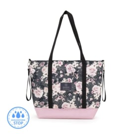 Shopper bag / luiertas - Night Flowers
