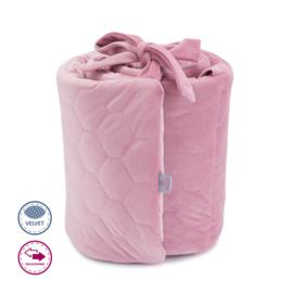 Hoofdbeschermer Roze velvet