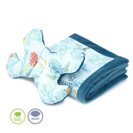 Baby set - kussen + deken - Ocean