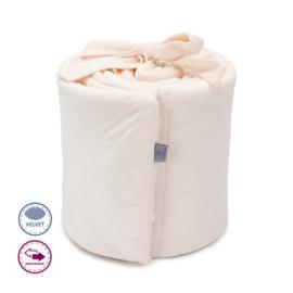 Hoofdbeschermer Soft roze velvet