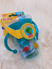 Beker 360  met handvaten - dino - Nuby