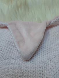 Knuffeldoek Ster roze