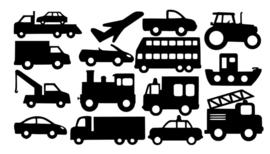 Raamstickers voertuigen