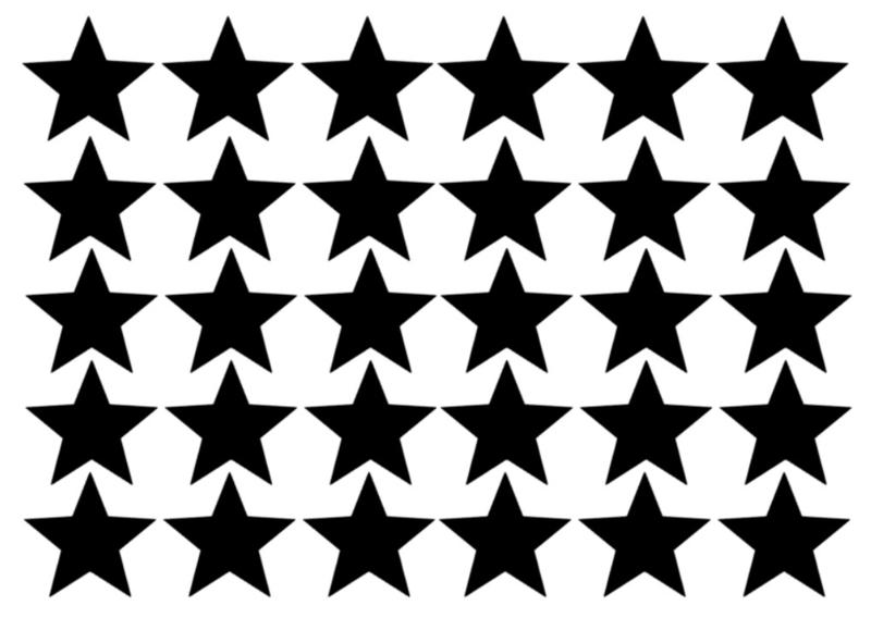 Muursticker ster