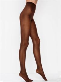 Panty 70 denier katoen, bruin