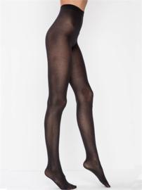 Panty 70 denier katoen, zwart