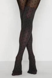 Overknee panty stippen 'Crowded dot'