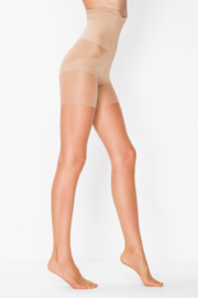Body control panty 15 denier bronze