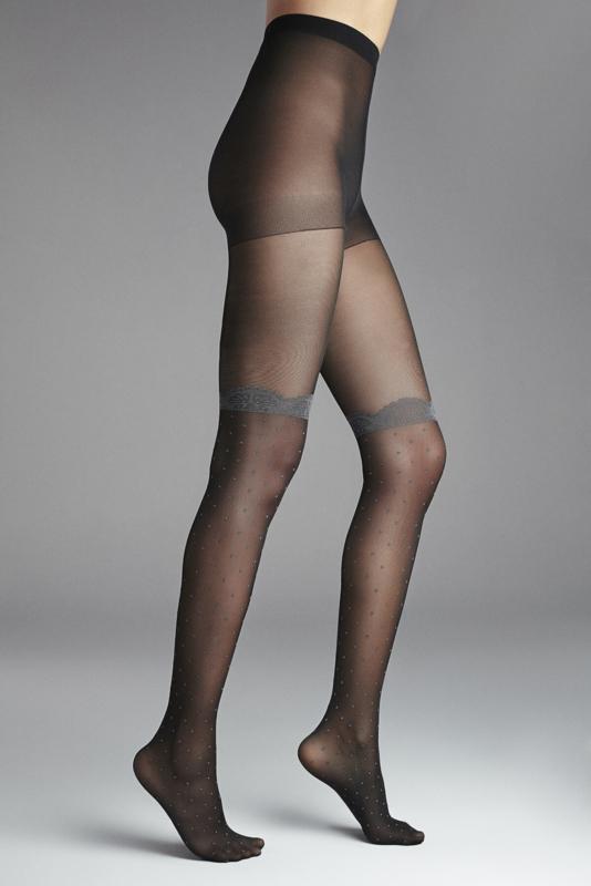 Panty stipjes 'Melange Lace'