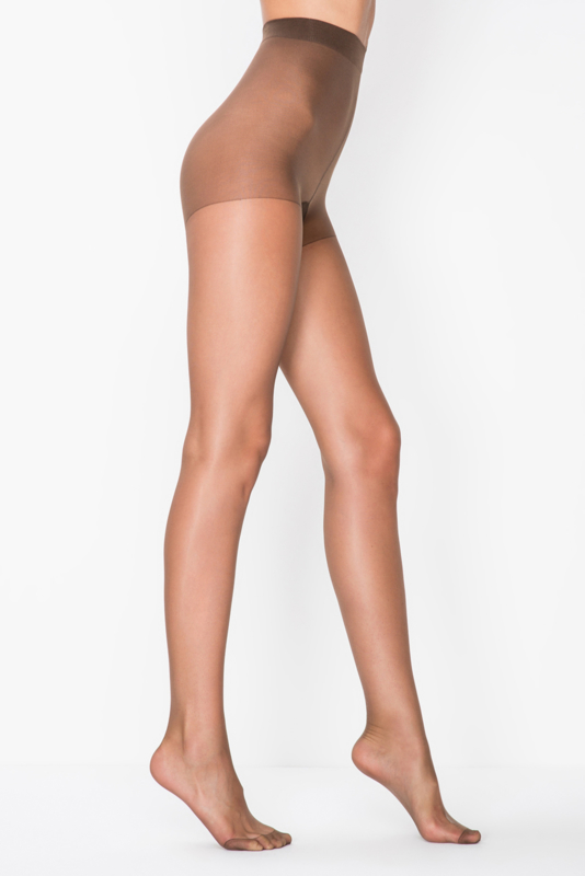 15 denier panty bruin, 'Fit 15'