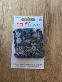 Love Rond Grijs/Zwart