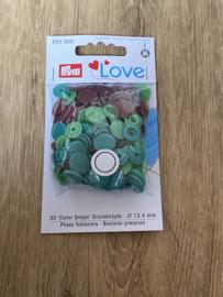 Love Rond Groen/Bruin