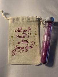 Fairy dust zakje