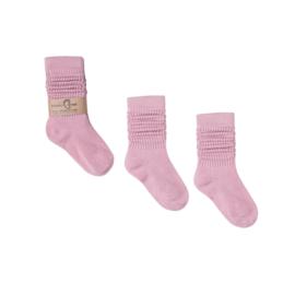 Lange sokken dreams pink