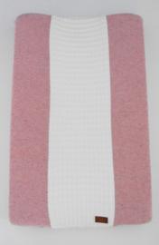 Aankleedkussenhoes 'Melange' roze
