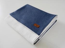 Wiegdeken 'Blue Jeans extra soft'
