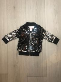 'Bling' Baby glitter jas