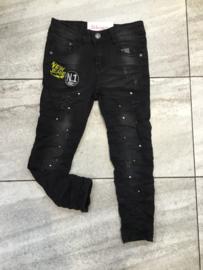 'Sander ' jongens jeans zwart.