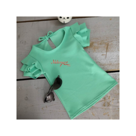 Even mint groen T-shirt