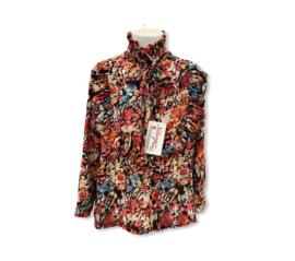 'Oranje ' meisjes blouse.