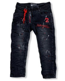 'Ed' jongens jeans Rood