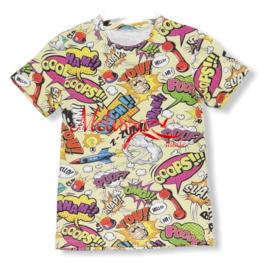 'ooops' Jongens T-shirt Geel.