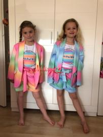 'Regenboog ' Meisjes setje roze.