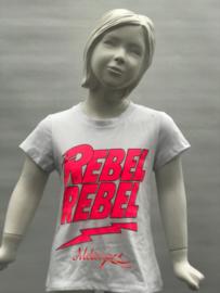 'Rebel' T-shirt neon.