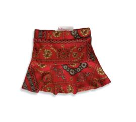 Versace look Rok rood.