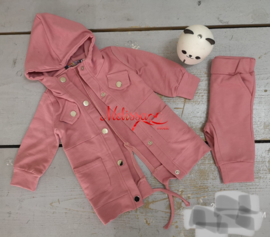 'Nilufer ' baby setje roze